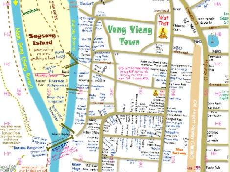 VangViengTown