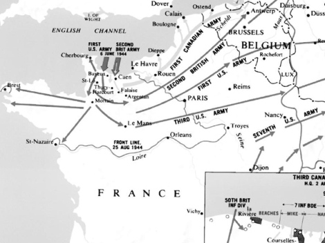 the-battle-of-Normandy