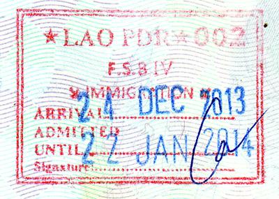 arrival-laos